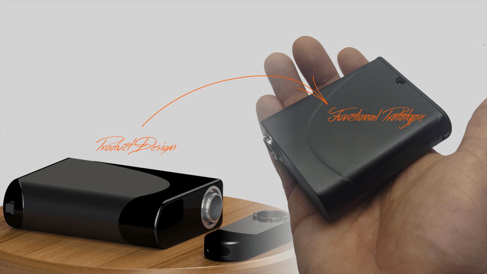 vaporizer_product design to functional prototype