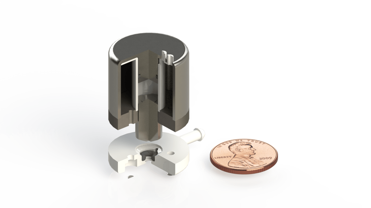 Worlds's Smallest and Strongest Solenoid Valve