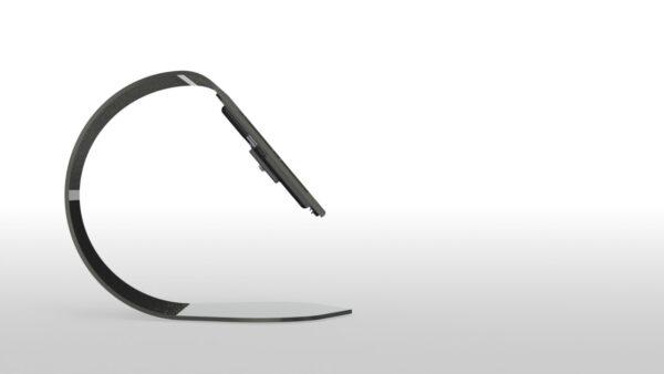 iPad Stand Kiosk, C-Shape, designed by DevSixOne